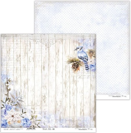 "Lexi Design - Winter Tales 12""x12"" paper #9"