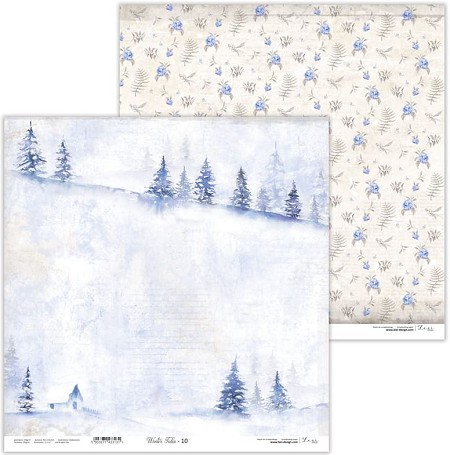 "Lexi Design - Winter Tales 12""x12"" paper #10"