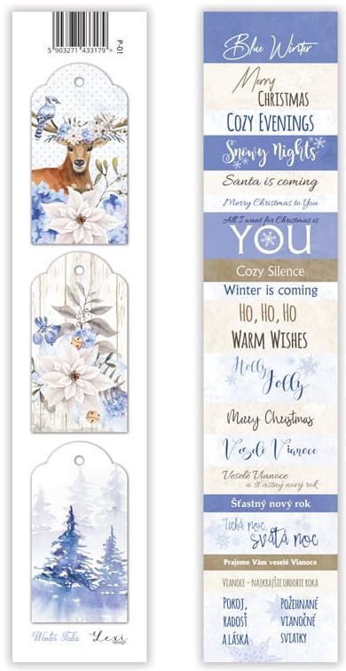 Lexi Design - Winter Tales Tag Strip #1