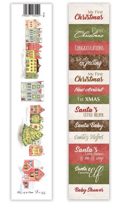Lexi Design - Christmas in Town Tag Strip #4