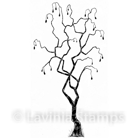 Lavinia Stamps - Clear Stamp - Tree of Faith