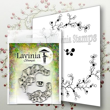 Lavinia Stamps - Clear Stamp - Berry Wreath with Mini Berries