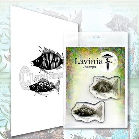 Lavinia Stamps - Clear Stamp - Fish Set