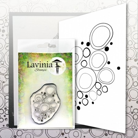 Lavinia Stamps - Clear Stamp - Blue Orbs