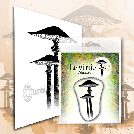 Lavinia Stamps - Clear Stamp - Meadow Mushroom