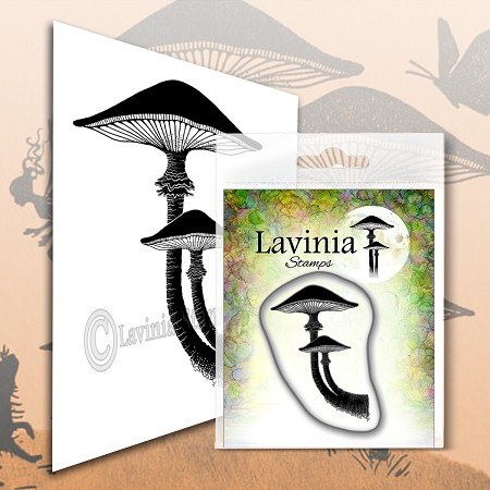 Lavinia Stamps - Clear Stamp - Forest Mushroom
