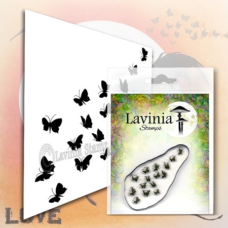 Lavinia Stamps - Clear Stamp - Flutterbies