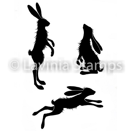 Lavinia Stamps - Clear Stamp - Whimsical Hares
