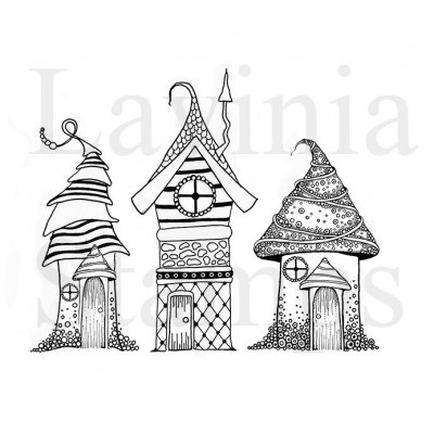 Lavinia Stamps - Clear Stamp - Zen Houses
