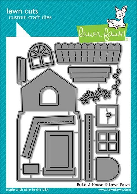 Lawn Fawn - Die - Build-a-House