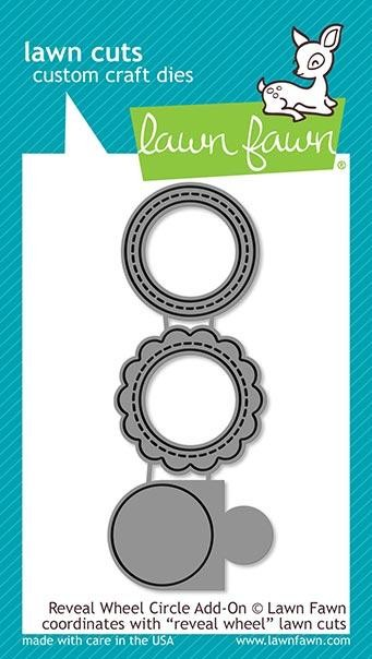 Lawn Fawn - Die - Reveal Wheel Circle Add-On
