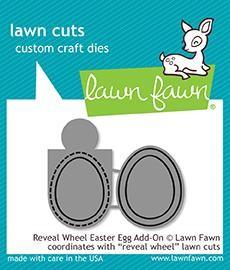 Lawn Fawn - Die - Reveal Wheel Easter Egg Add-On