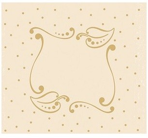 Leane Creatif - LeCrea Design Embossing Folder - Frame Leaves