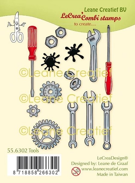 Leane Creatif - Tools Clear Stamp