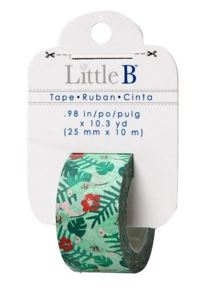 Little B - Decorative Tape - (25mm x 10m) - Tropical