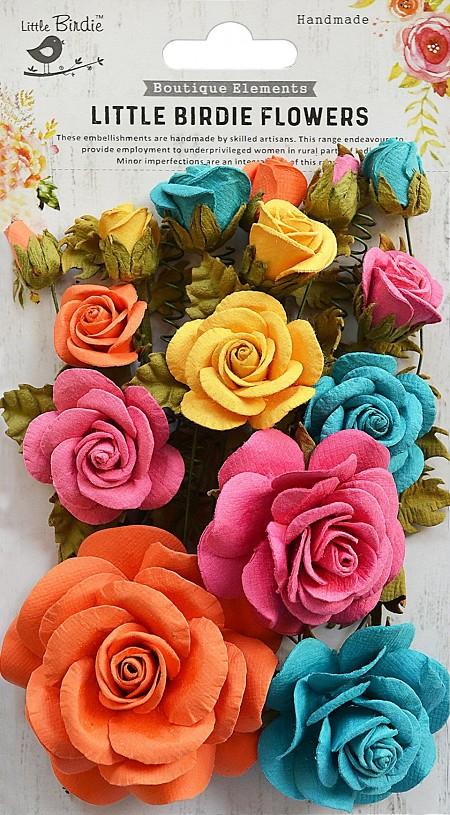 Little Birdie Paper Flowers Rosalind Fiona Carnation