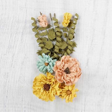 Little Birdie Paper Flowers Elsie Pastel