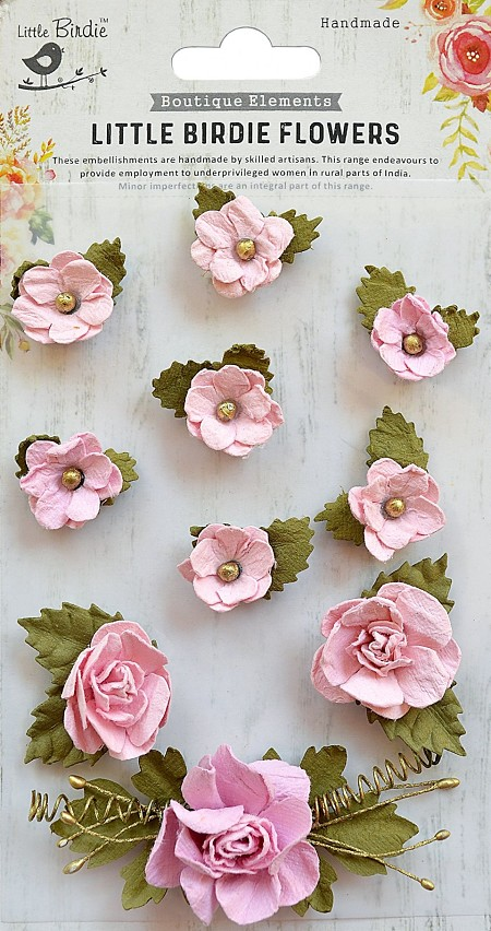 Little Birdie Paper Flowers Adelina Pearl Pink
