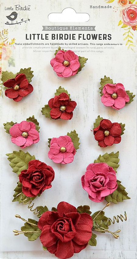 Little Birdie Paper Flowers Adelina Candy Mix