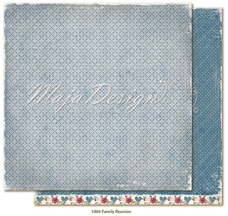 "Maja Design - Christmas Season Collection - 12""x12"" Double Sided Cardstock - Family Reunion"