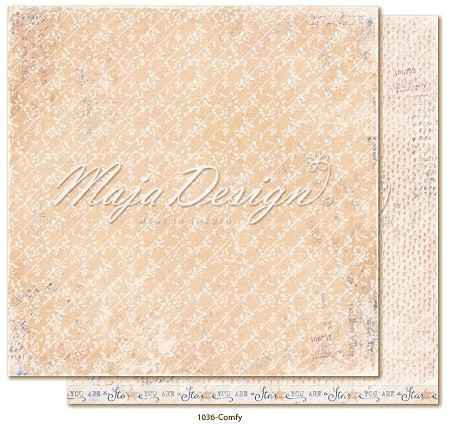 "Maja Design - Denim & Girls Collection - Comfy 12""x12"" Cardstock"