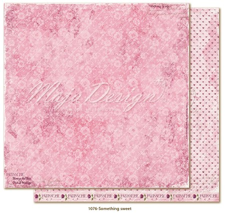 "Maja Design - Little Street Café Collection - Something sweet 12""x12"" Double Sided Cardstock"