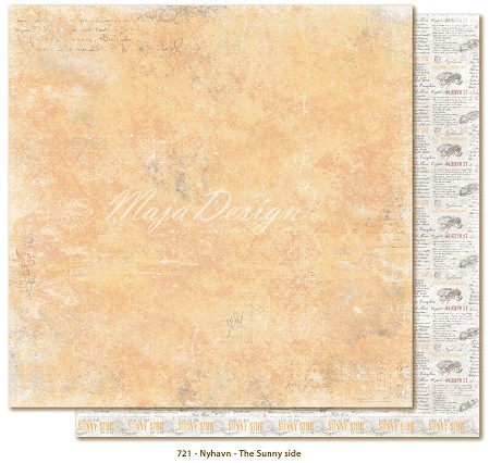 "Maja Design - Nyhavn Collection - 12""x12"" Double Sided Cardstock - The Sunny Side"
