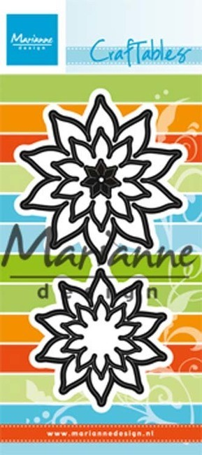 Marianne Design - Craftables Die - Pointed Succulents