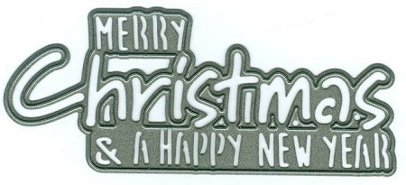 Marianne Design - Craftables Die - Merry Christmas