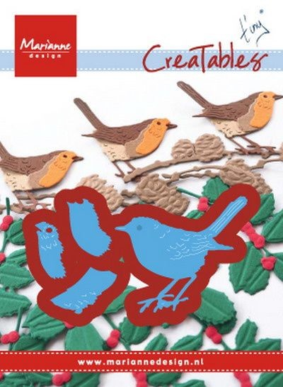 Marianne Design - Creatables Die - Tiny's Red Robin