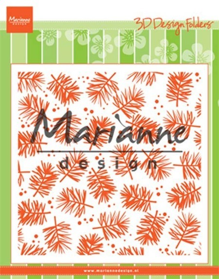 Marianne Design - Embossing Folder - Pine Branches