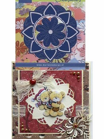 Marianne Design - Creatables Die - Doily with bonus flower