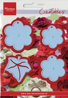 Marianne Design - Creatables Die - Extra large flower set with Leaf