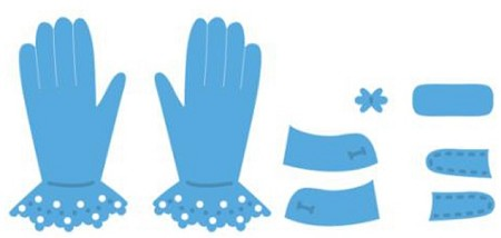 Marianne Design - Creatables Die - Tiny's Gloves
