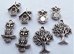 Marianne Design - Charms - Owls