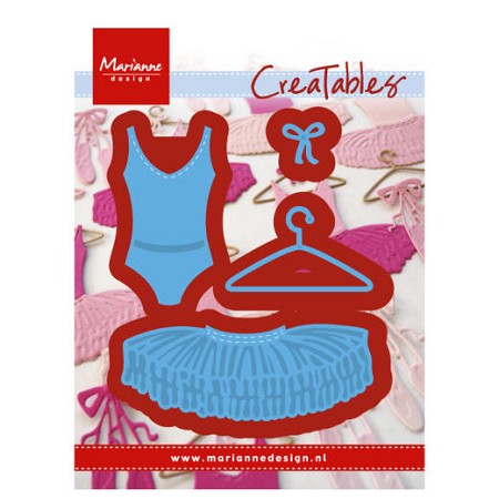 Marianne Design - Creatables Die - Ballet Dress