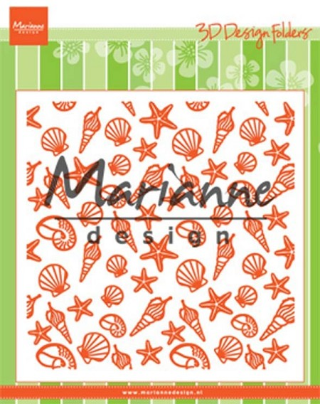 Marianne Design - Embossing Folder - Sea Shells