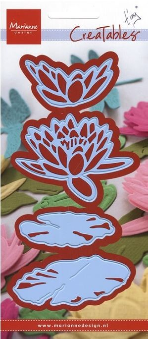 Marianne Design - Creatables Die - Tiny's Waterlily Large