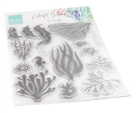 Marianne Design - Clear Stamp - Silhouette Coral