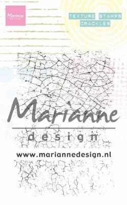 Marianne Design - Clear Stamp - Texture Crackles