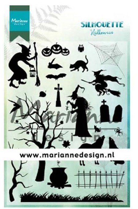 Marianne Design - Clear Stamp - Silhouette Halloween