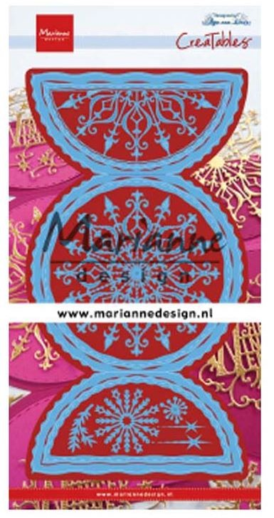 Marianne Design - Creatables Die - Anja's Folding Circle XL