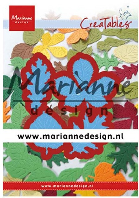 Marianne Design - Creatables Die - Tiny's Leaves