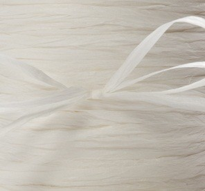 May Arts Ribbon - Paper Raffia - White (Price per yard)