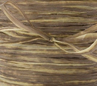May Arts Ribbon - Paper Raffia - Olive (Price per yard)