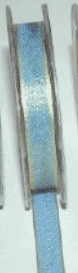 "May Arts Ribbon - 1/4"" Woven Iridescent - Light Blue/Yellow (Price per yard)"