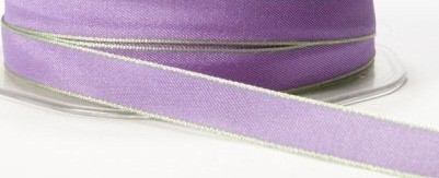 "May Arts Ribbon- 3/8"" solid/two-tone - Lavender (price per yard)"