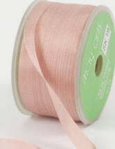 "May Arts Ribbon- 1/4"" Silk- Mauve"