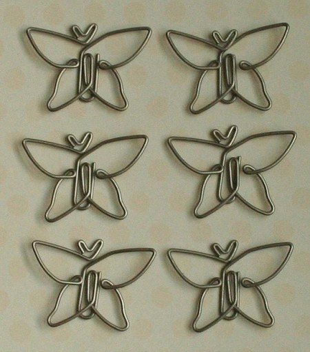 Maya Road - Metal Vintage Trinket - Soar Butterfly Clips :)