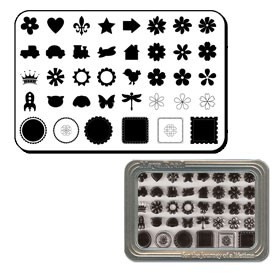 Maya Road Clear Stamp Set - Motifs